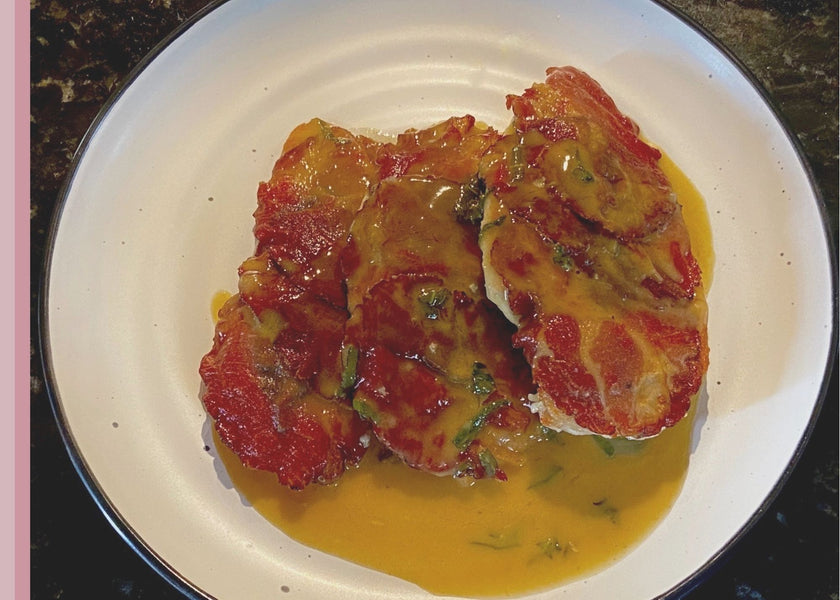 Chicken Saltimbocca with Salt Kitchen capacollo
