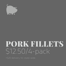 Load image into Gallery viewer, Pork Fillets