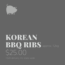 Load image into Gallery viewer, Korean BBQ Ribs 1.2kg