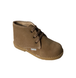 Load image into Gallery viewer, Angelitos Boots - Angelitos Lace up Desert Boots - Tan