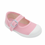 Load image into Gallery viewer, Angelitos Mary Jane Shoes - Pink