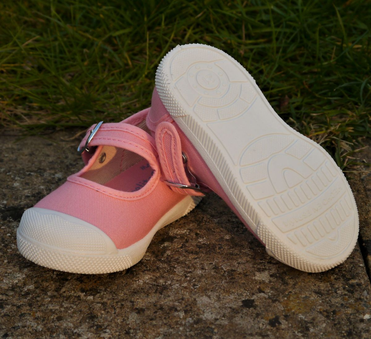 Angelitos Mary Jane Shoes - Pink
