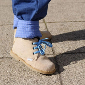 Angelitos Boots - Angelitos Lace up Desert Boots - Camel