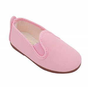 Angelitos Canvas Slip ons - Light Pink