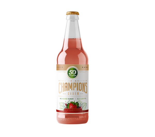 Strawberry & Rhubarb Cider - 500ml