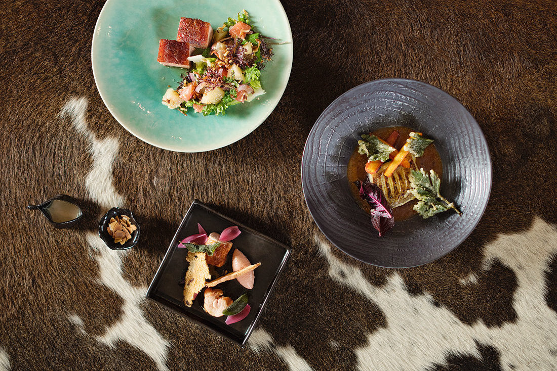 Small plates at Chefs Warehouse at Maison