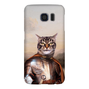 KNIGHT IN BROWN SATIN PHONE CASE - ALL MODELS