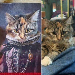 QUEEN O'PHARTS - CUSTOM CANVAS