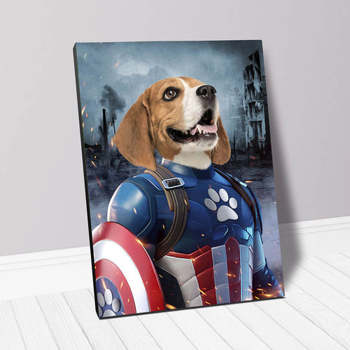 CAPTAIN KIBBLES - CUSTOM CANVAS