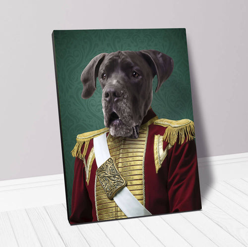 DUKE OF PORK - CUSTOM CANVAS