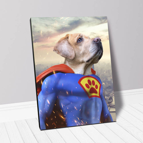 SUPERMUTT - CUSTOM CANVAS