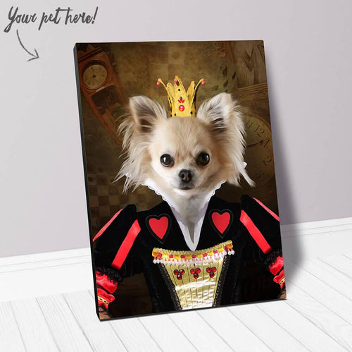 TEENY QUEENIE - CUSTOM CANVAS