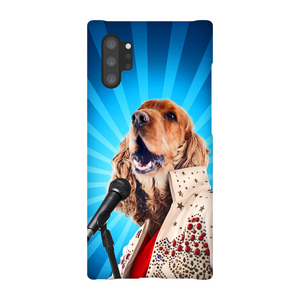 BLUE SUEDE CHEW TOY PHONE CASE - ALL MODELS