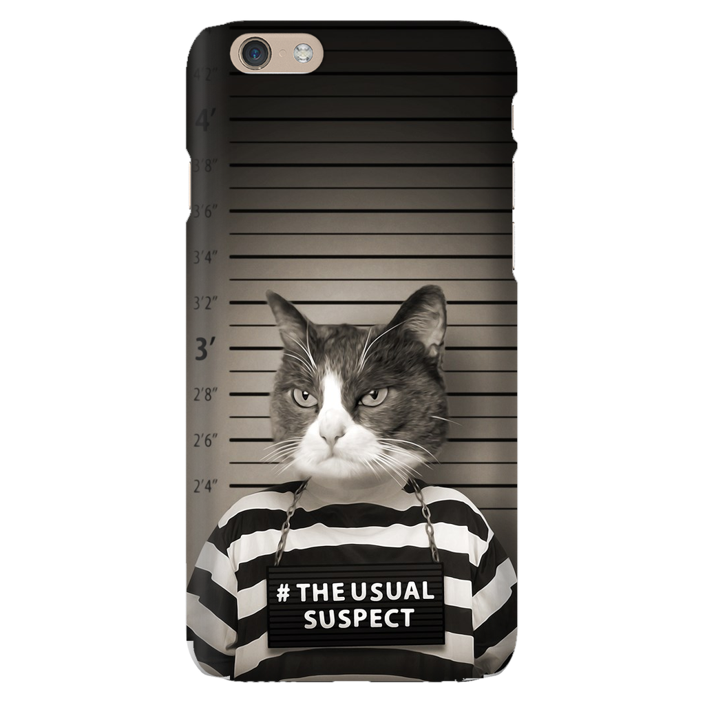THE USUAL SUSPECT PHONE CASE - ALL MODELS
