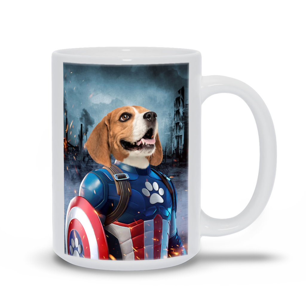 CAPTAIN KIBBLES COFFEE MUG (15oz)