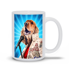 Load image into Gallery viewer, BLUE SUEDE CHEW TOY COFFEE MUG (15oz)