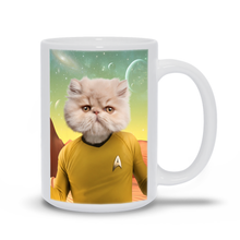 Load image into Gallery viewer, CAPTAIN QUIRK COFFEE MUG (15oz)