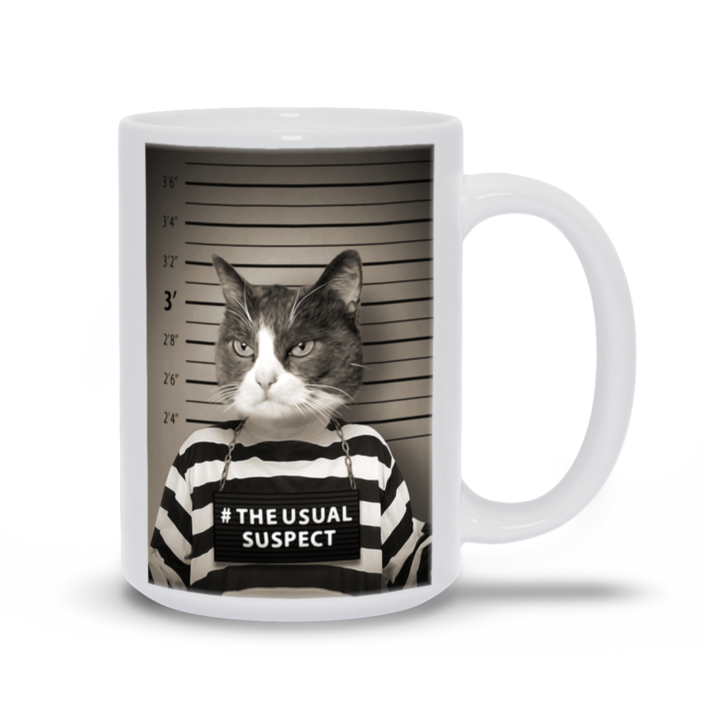 THE USUAL SUSPECT COFFEE MUG (15oz)