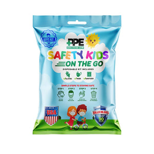 BOYS SAFETY KIT ON THE GO (4 Pack)