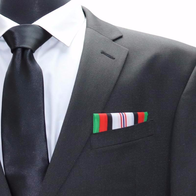 Afghanistan Campaign Medal - Pocket Square Heroes