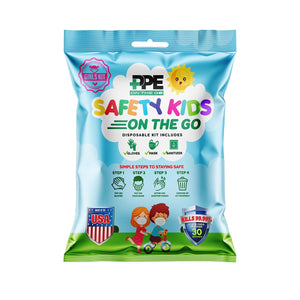 GIRLS SAFETY KIT ON THE GO  (4 Pack)