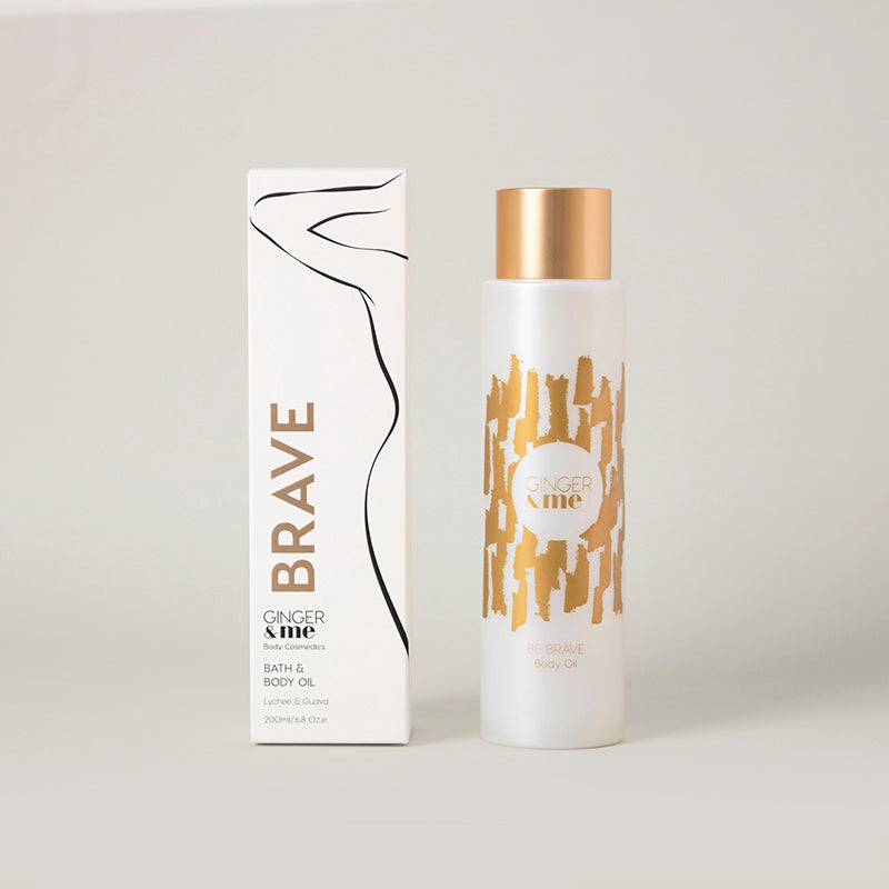 Ginger & Me Be Brave Body Oil