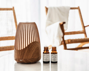 Load image into Gallery viewer, iKOU Aromatherapy Ultrasonic Diffuser