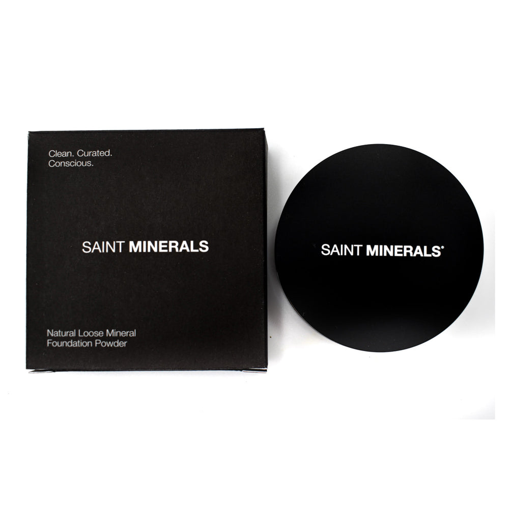 Saint Minerals Natural Loose Mineral Foundation Powder