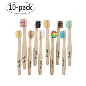 Eco Club Bamboo Tothbrush 10 Pack