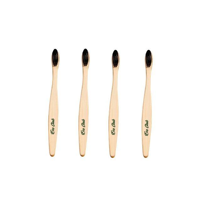 Eco Club Bamboo Tothbrush Pack of 3