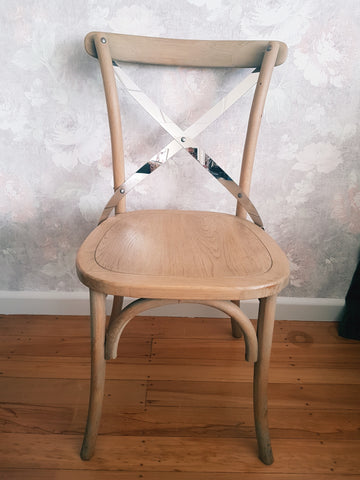Bleached Oak Chair