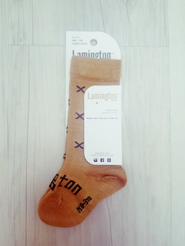 Lamington Chestnut Socks