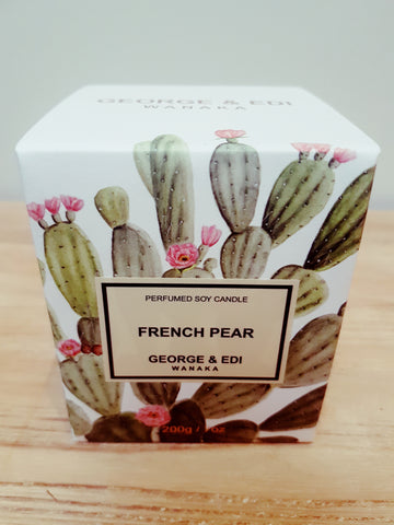 George & Edi French Pear Candle