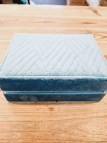 Small Teal Jewellery Box