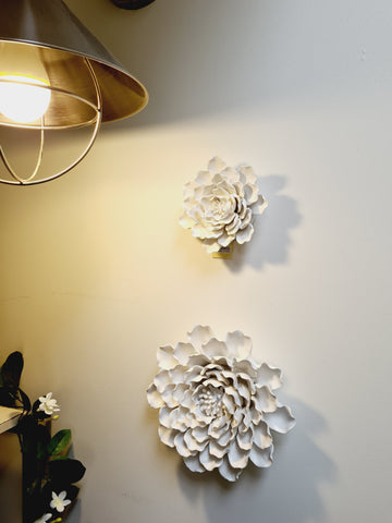 Handmade Wall Flowers