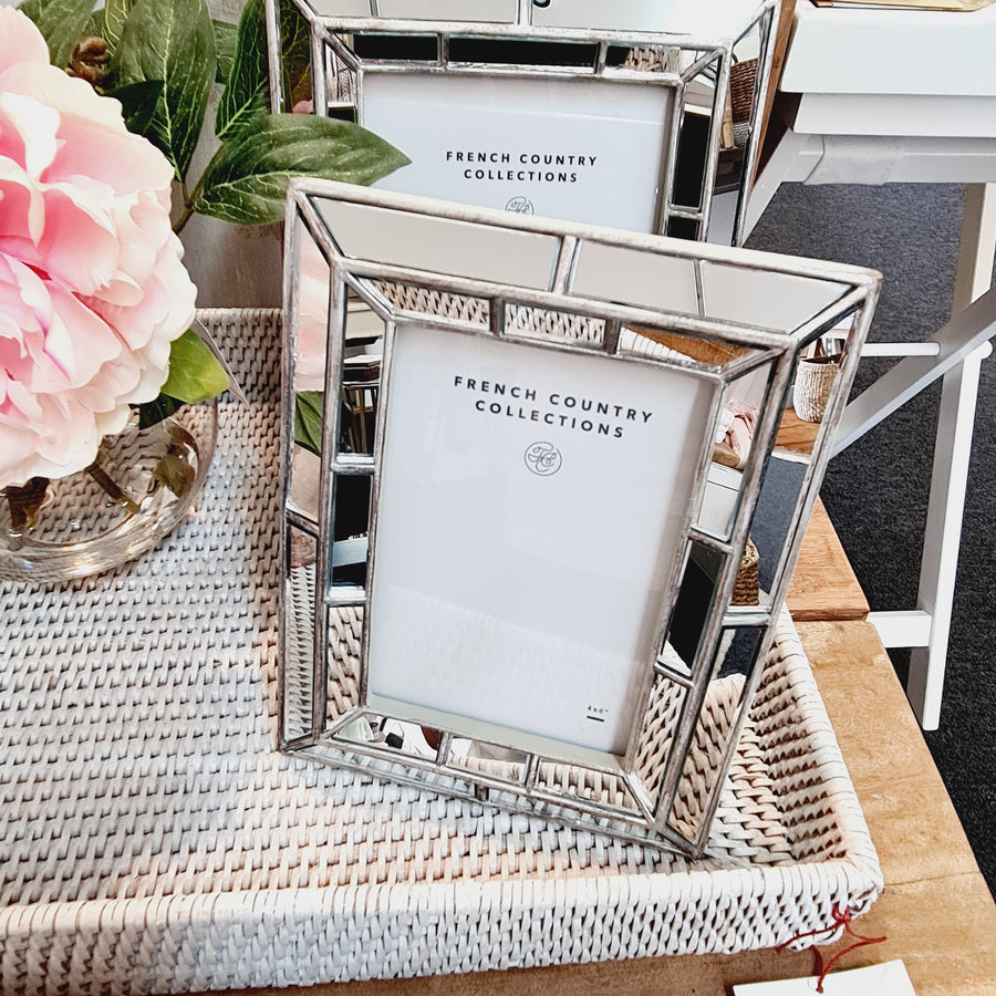 French Country Mirror Photo Frame