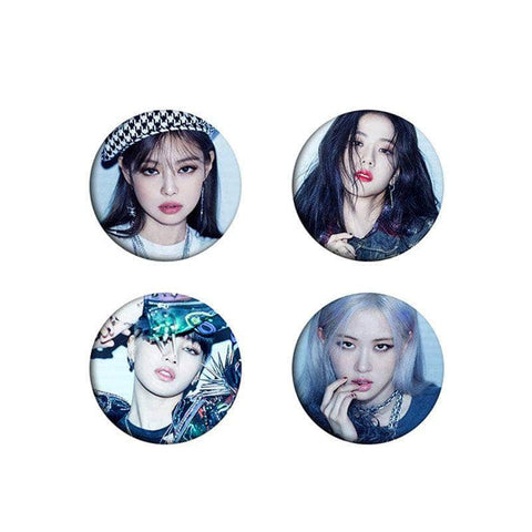 Official Kpop Merchandise Online 🥇 Badges 6cm Badges Blackpink LOVESICK GIRLS