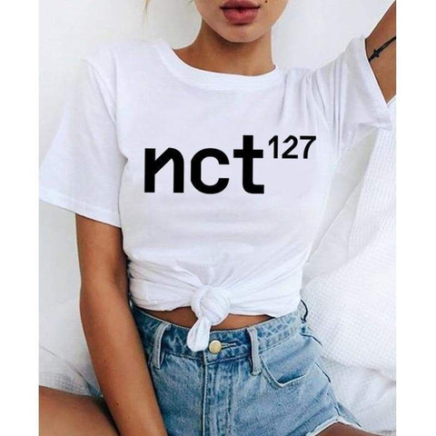 Kpop Merchandise Online Clothing ALL KPOP Band O NeckTshirts