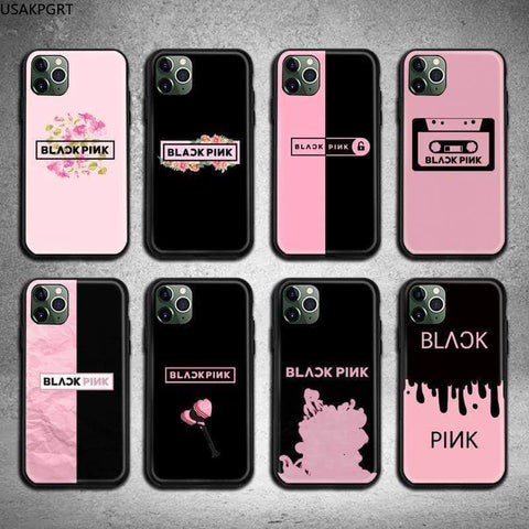 Official Kpop Merchandise Online 🥇 Phone Case BLACKPINK iPhone Cases