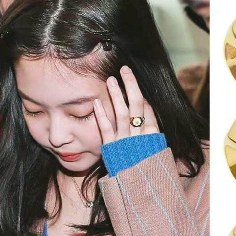 K-pop Fashion BLACKPINK JENNIE Accessories