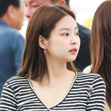 K-pop Fashion BLACKPINK JENNIE Earrings