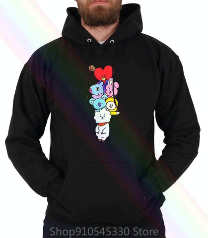 Official Kpop Merchandise Online 🥇 Clothing BT21 Hoodie