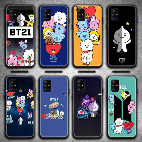 Official Kpop Merchandise Online 🥇 Accessories BT21 Samsung Galaxy Phone Case
