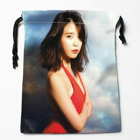 Official Kpop Merchandise Online 🥇 Accessories Drawstring IU Bag