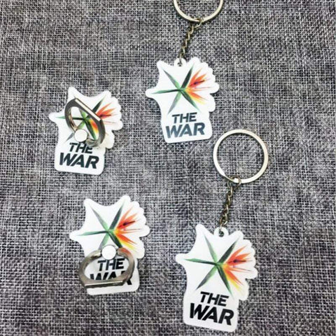 Kpop Merchandise Online Keyring EXO The War Keychain or Mobile Ring