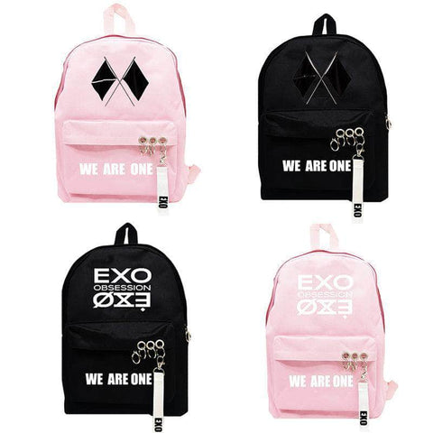 K-pop Fashion EXO We are one Backpack