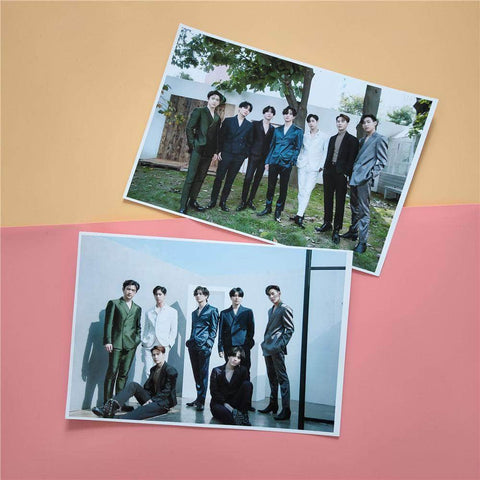 K-pop Fashion GOT7 2 Sheets Call My Name Poster Sticker