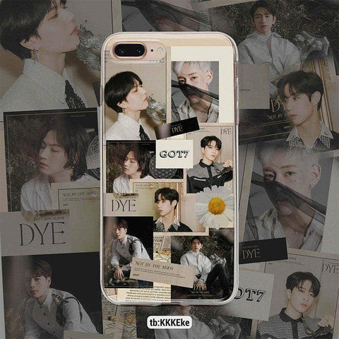 K-pop Fashion GOT7 Collage Retro Phone Case