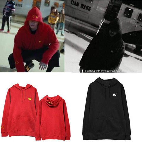 K-pop Fashion GOT7 Jackson Star Hoodie