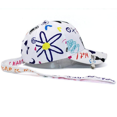 Official Kpop Merchandise Online 🥇 Clothing Graffiti GDragon Hat